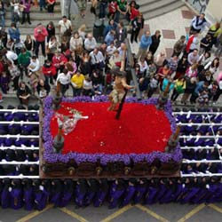 semana santa malaga-crucifixion