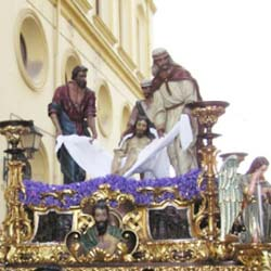 semana santa malaga-santo traslado