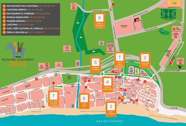 cuchareo-mijas-costa-2014-mapa-2