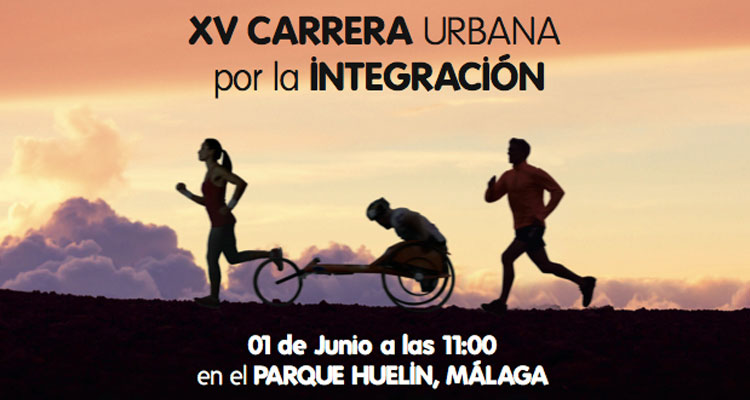 Carrera Urbana por la Integración Málaga 2014 Parque de Huelin