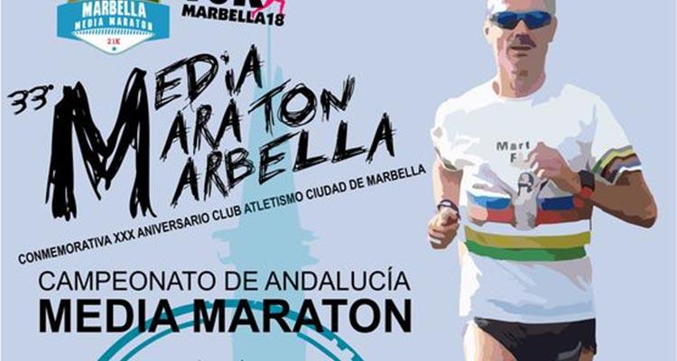 Media Maratón de Marbella 2018 y 10k