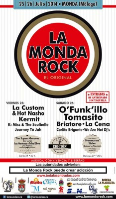 CARTEL MONDA ROCK
