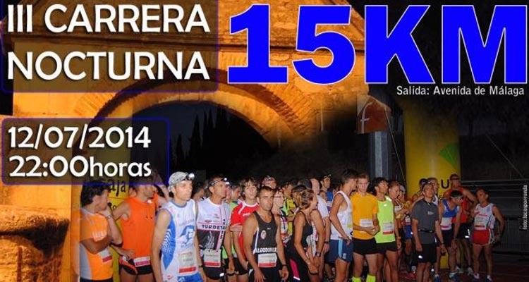 Carrera Nocturna Las 3 Murallas de Ronda 2014