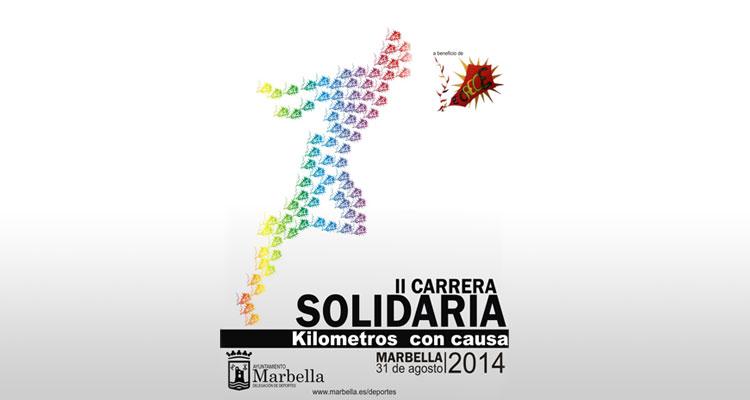 Carrera Kilómetros Solidarios Marbella 2014