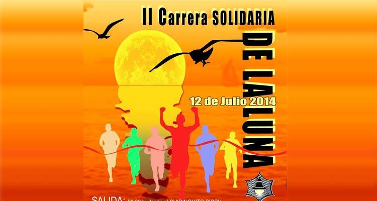 Carrera Solidaria de la Luna Málaga 2014