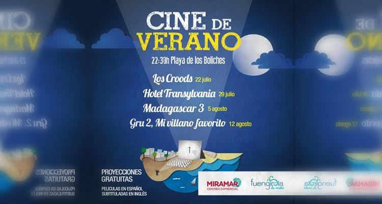Cine de Verano de Fuengirola 2014