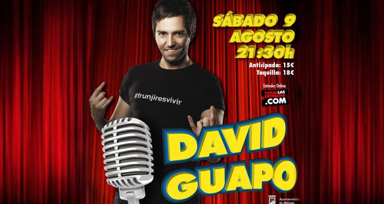 David Guapo en la sala Cochera Cabaret de Málaga 2014