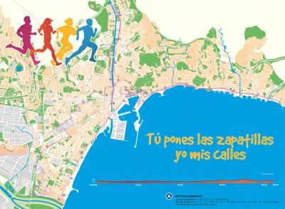 Recorrido de la Maratón de Málaga 2014