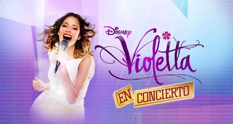 Concierto Violetta Live 2015 en Málaga