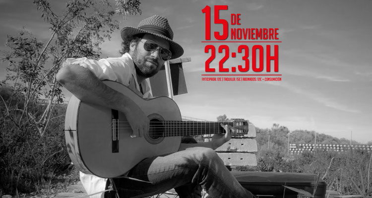 Concierto del Canijo de Jerez en la Cochera Cabaret de Málaga 2014