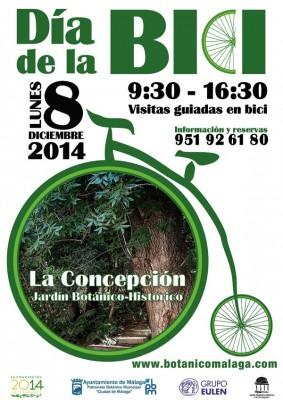 Día de la Bici 2014 Jardín Botánico La Concepción