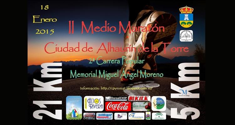 Media Maratón y Carrera Popular Alhaurín de la Torre 2015