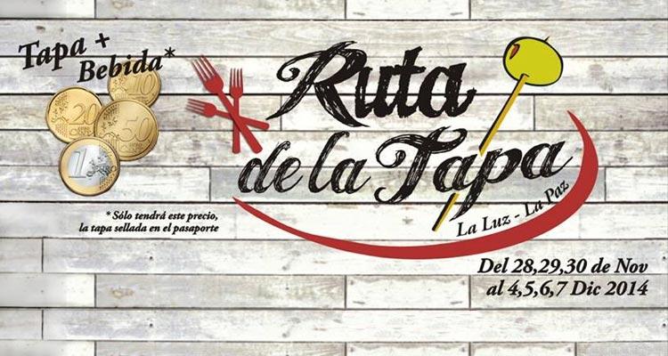Ruta de la tapa La Luz - La Paz 2014