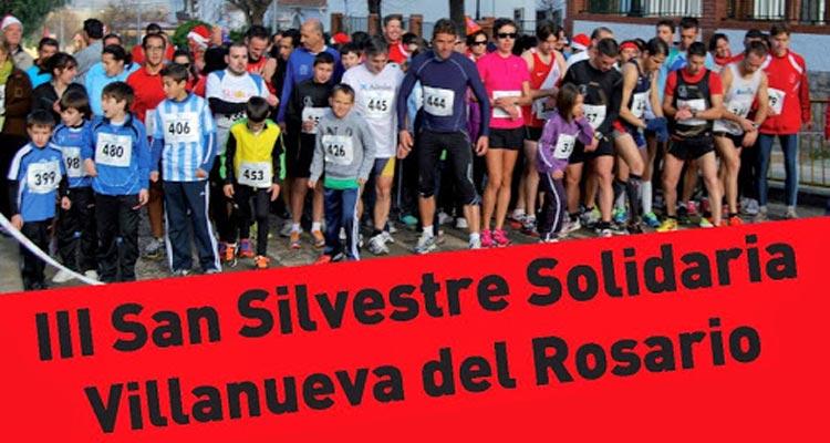 San Silvestre Solidaria Villanueva del Rosario 2014