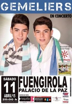 Concierto Gemeliers Fuengirola 2015