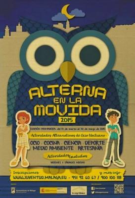 Alterna en la Movida 2015 Edición Primavera Cartel