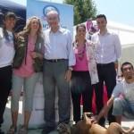 Alcalde de Málaga en la Protectora de Animales