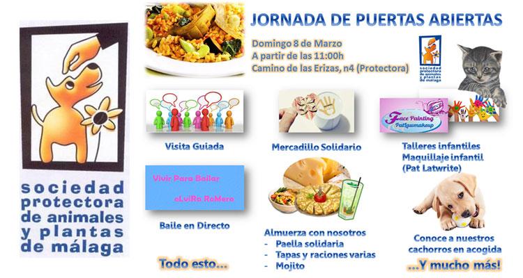 Protectora de Animales de Málaga 2015. Jornada de puertas abiertas