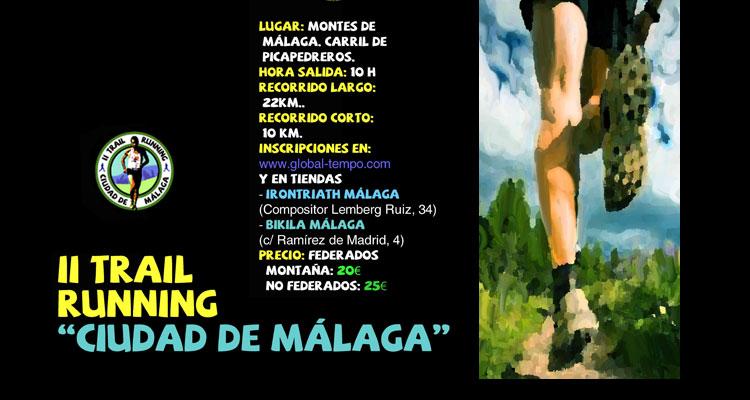 Trail Running Ciudad de Málaga 2015