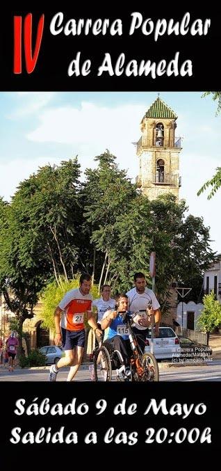 Cartel de la Carrera Popular San Isidro Alameda 2015