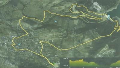Recorrido Carrera Poblado de Belda 2015 Cuevas de San Marcos