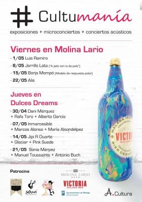 Cartel del Cultumanía Málaga 2015