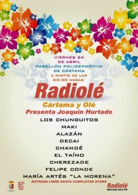 Gala Cártama y Olé de Radiolé. Feria de Cártama 2015