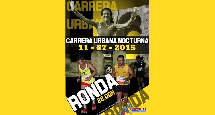 Carrera urbana Nocturna Ronda 2015