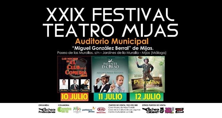 Festival Teatro Mijas 2015