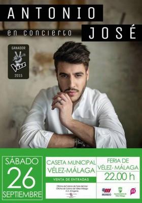 concierto Antonio José Vélez-Málaga
