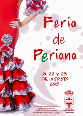 Cartel de la Feria de Periana 2015