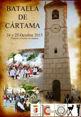 Cartel Recreación Batalla de Cártama 2015