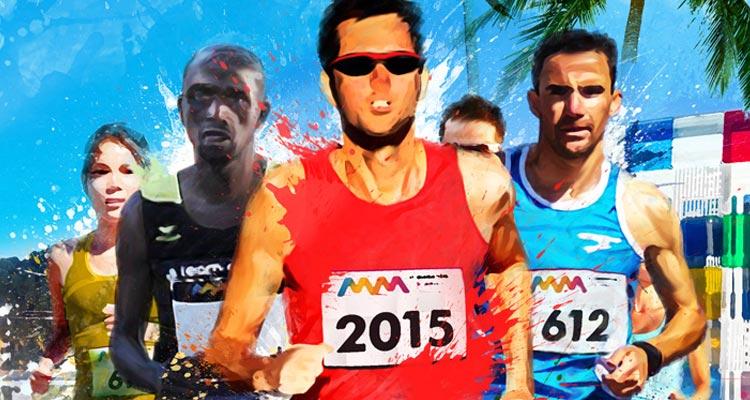 Maratón Málaga 2015 Cabberty