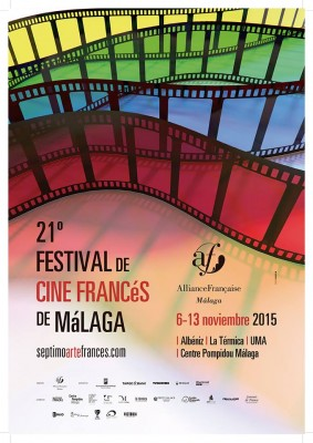Cartel del Festival de Cine Francés de Málaga 2015