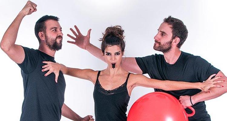Improviciados Málaga 2015. Dani Rovira, Clara Lago y Rafa Villena