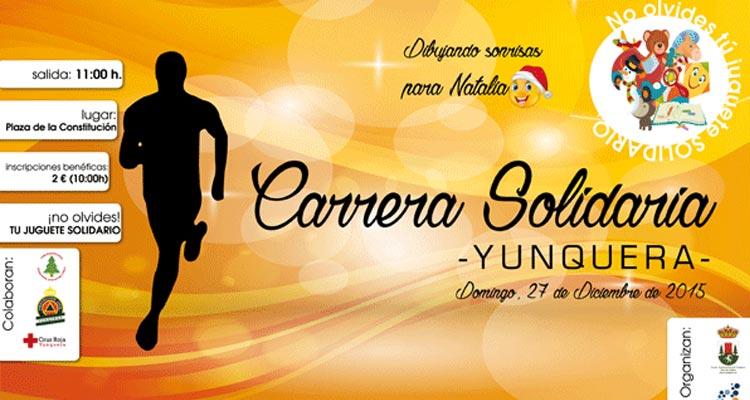 Carrera Solidaria Yunquera 2015