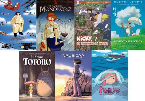Películas de Miyazaki, un mundo invisible. Ciclo en cine Albéniz 2015