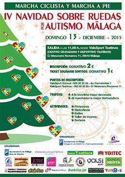 Cartel Navidad Sobre Ruedas 2015 Teatinos Universidad
