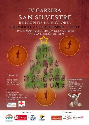 Cartel San Silvestre Rincón de la Victoria 2015