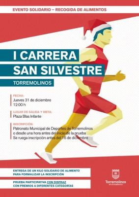 Cartel San Silvestre Torremolinos 2015