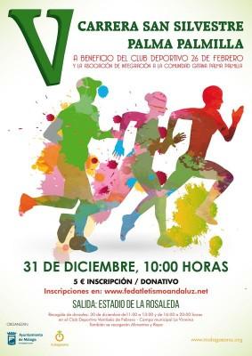 Cartel San Silvestre Palma Palmilla 2015