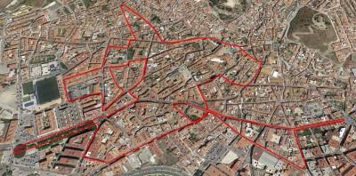 Recorrido San Silvestre Vélez Málaga 2015