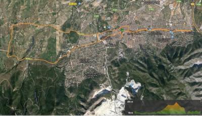 Recorrido Media Maratón Alhaurín de la Torre 2016