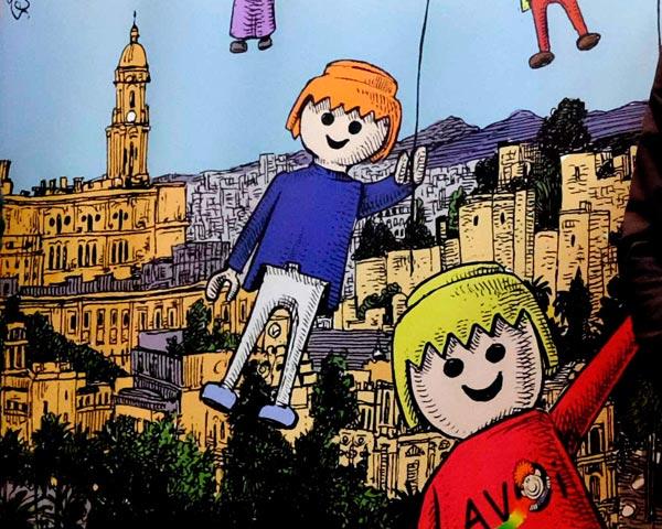 Clicks Playmobil Asociación Cofradías Málaga 2015