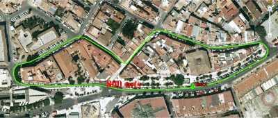 Circuito de 800m de la Carrera Urbana Arroyo de la Miel 2016