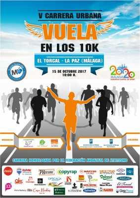 Cartel de la Carrera Urbana El Torcal La Paz 2017