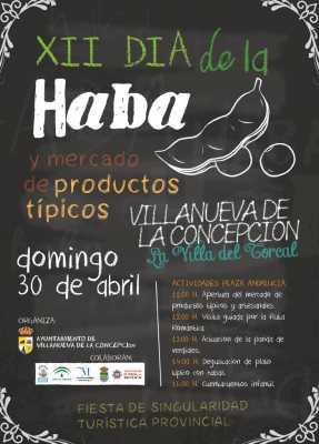 Cartel del Día de la Haba de Villanueva de la Concepción