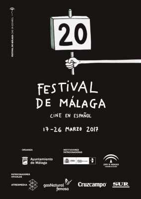 Cartel del Festival de Málaga de Cine en Español 2017