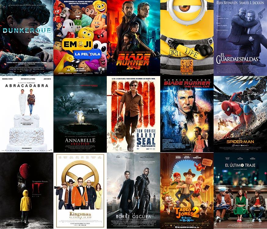 Películas en cartelera en la Fiesta del Cine