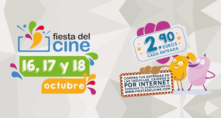 Fiesta del Cine 2017 en Málaga Octubre